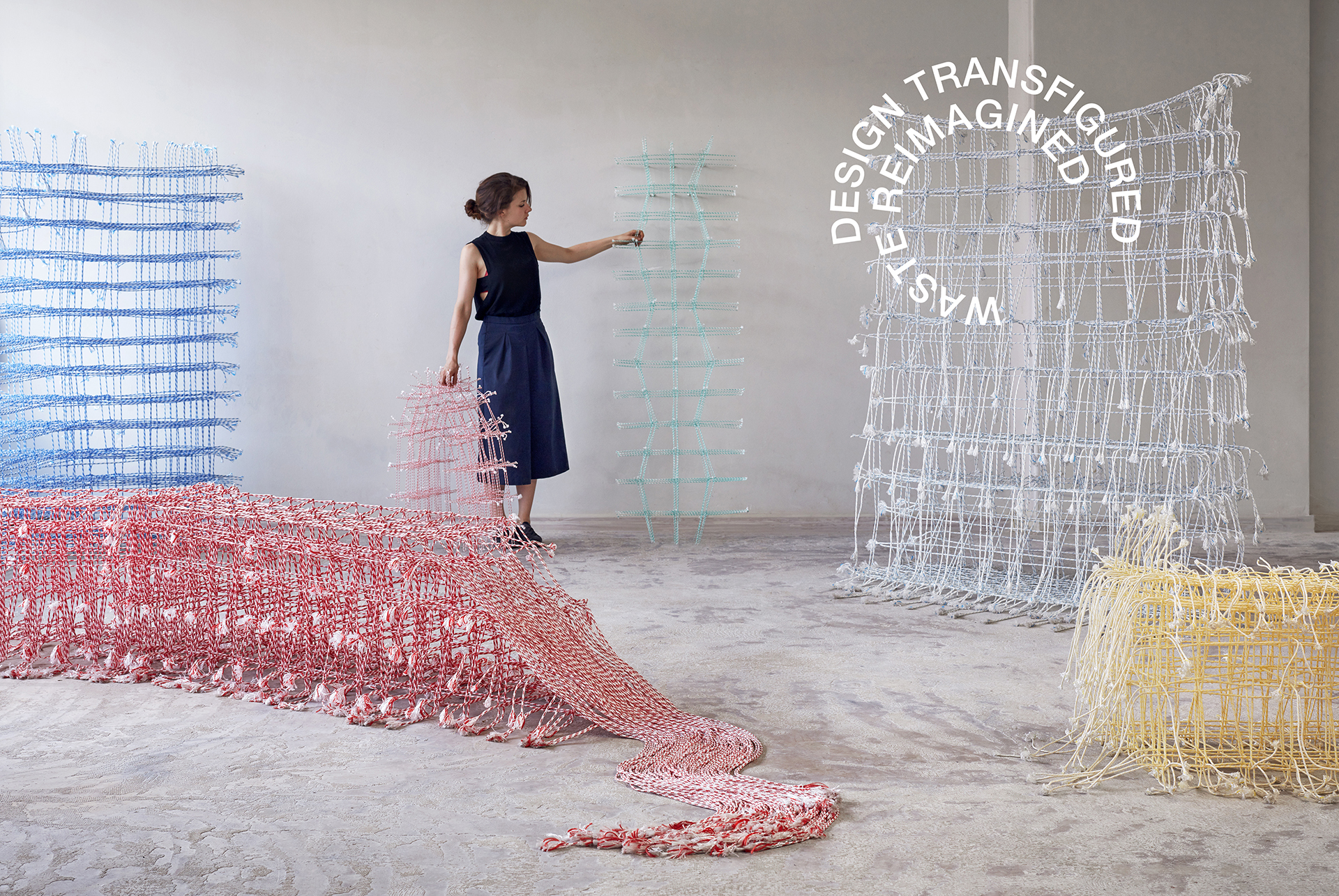 Fransje Gimbrere Design Transfigured / Waste Reimagined exhibit