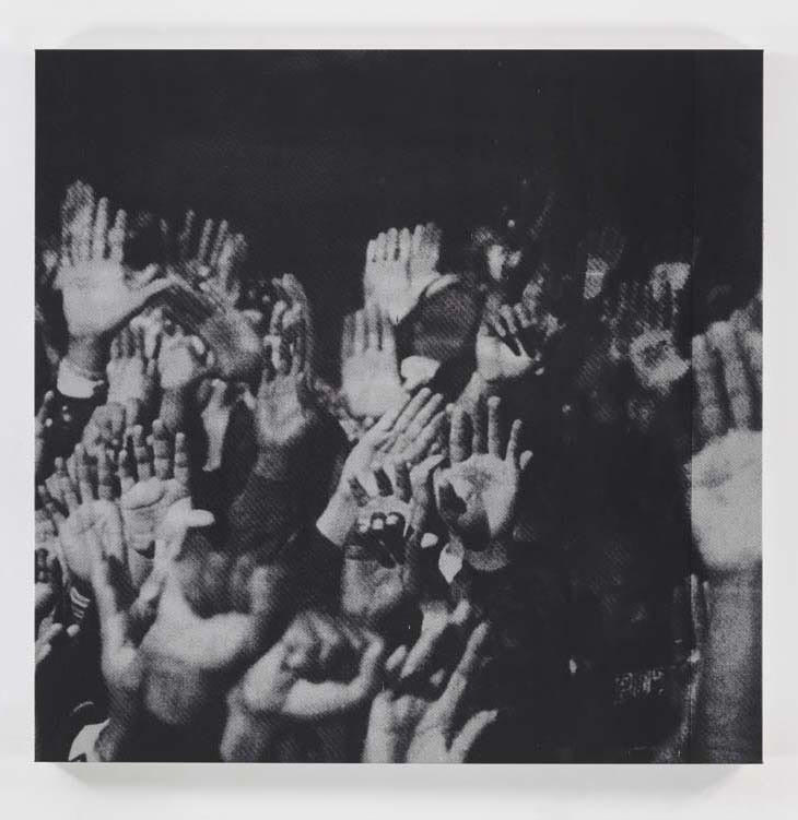 Glenn Ligon, Grey Hands #2, 1996